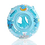 UClever Baby Float Elephant Inflatable Swim Ring Pool Float for Toddler 6-36 Months