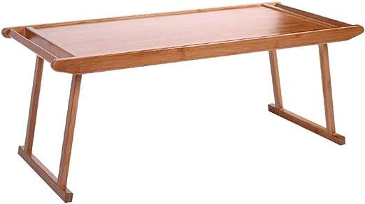 Muebles y Accesorios de jardín Mesas Mesa de Centro Plegable Mesa Kang de Madera Maciza Mesa con Ventana panorámica Mesa de computadora Mesa de jardín de Infantes, se Puede Plegar: Amazon.es: Hogar