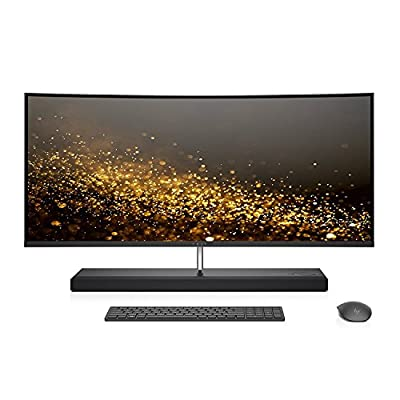 "HP ENVY 34 CURVED All-In-One Desktop Intel Core i7-7700K Processor, 34"" WQHD LED (3440x1440) Display, 1TB SSD, 32GB DDR4 Memory, AMD Radeon RX460, Windows 10 Pro"