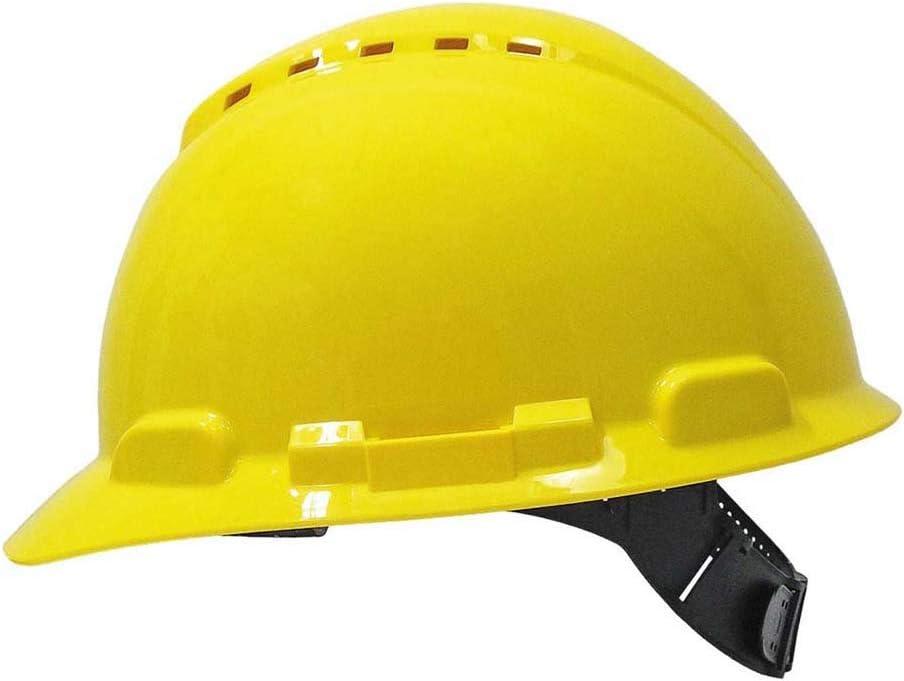 3M H700CGU - H700 Casco con ventilación, amarillo, arnés estándar ...