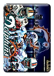 Cool Plain Tpu Rubber Skin Case Cover For Ipad Mini Nfl Miami Dolphins wangjiang maoyi by lolosakes