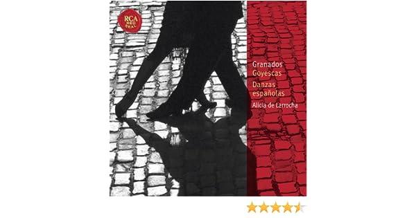 Granados: Goyescas; Danzas españolas: Classic Library Series de Alicia De Larrocha en Amazon Music - Amazon.es
