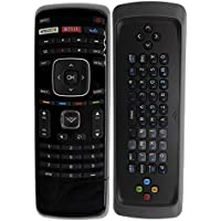 New Smartby XRT300 Remote Control with Keyboard for Vizio TV M320SR M420SR M470NV M550NV M470VSE M650VSE M550VSE M3D460SR E3D320VX D500I-B1 D650I-B2 E231I-B1 with Amazon Netflix Vudu app
