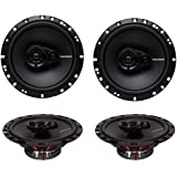 4) New Rockford Fosgate R165X3 6.5' 180W 3 Way Car Audio Coaxial Speakers Stereo