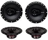 4 New Rockford Fosgate R165X3 6.5' 180W 3 Way Car Audio Coaxial Speakers Stereo