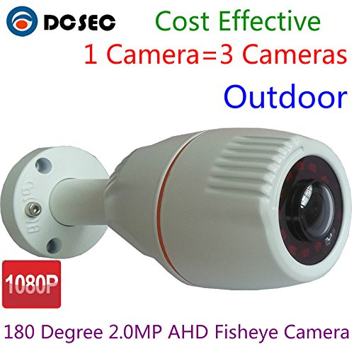 2.1MP Sony CMOS 180 Degree Fish eye Lens Wide Angle HD-CVI /