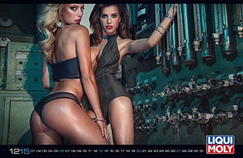 Price comparison product image © ORIGINAL LIQUI MOLY  CALENDAR 2015  LIMITED  PIN UP GIRLS  FULL NUDE - ADULT - GIRLS - WOMEN - PLAYMATE - SEXY - EROTIK - EROTIC - EROTICA
