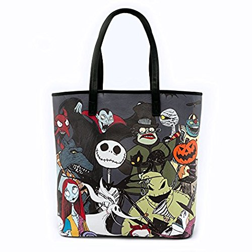 Loungefly The Nightmare Before Christmas Character Borsa A Mano Einkaufstasche S Chultertasche Tasche Jack Skellington