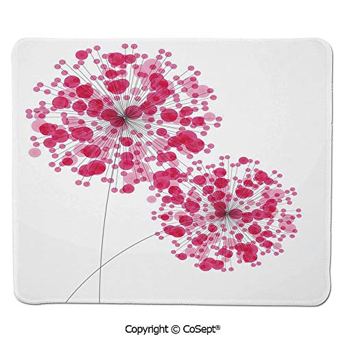 Mouse Pad,Conceptual Dandelion Design Bouquet Modern Flower Decorations Gardening Plant Romantic,for Computer,Laptop,Home,Office & Travel(7.87