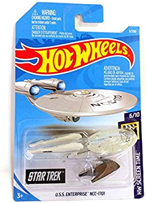 Enterprise ncc-1701 startrek HW screen time 6//10 2019 nuevo Hot Wheels U.S.S