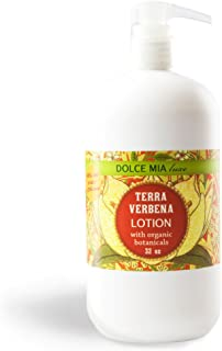 product image for Dolce Mia Terra Verbena Shea Butter Lotion With Organic Botanicals 32 oz. Refill