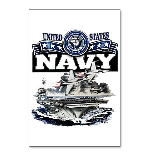 Postcards (8 Pack) US Navy Aircraft Carrier and Jets