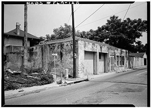 Photo: Perez-Sanchez House,101 Charlotte Street,Saint Augustine,St. Johns - Fl Shops Augustine St