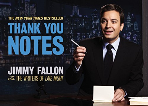 Thank You Notes by Jimmy Fallon (23-May-2011) Paperback
