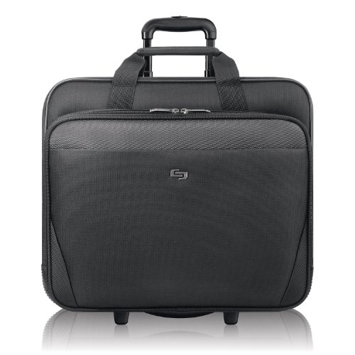 Solo Empire 17.3 Inch Rolling Laptop Case, Black (Business Laptop Urban Case)