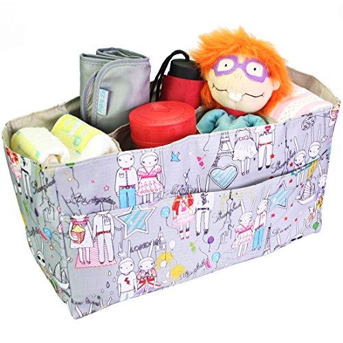 KF para accesorios de fotografía con mangas para bebé y cambiador para pañales bolsa para raquetas de tenis Carcasa de borde para, blanco y gris + y cambiador para pañales para cambiar el color de pat