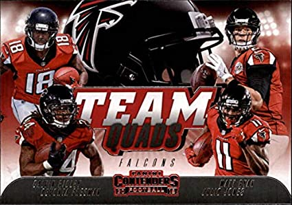 san francisco 244b4 783a2 Amazon.com: 2018 Contenders Team Quads Football #TQ-9 Calvin ...