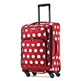 American Tourister Disney Minnie Mouse Polka Dot Softside Spinner 21, Multi, One Size