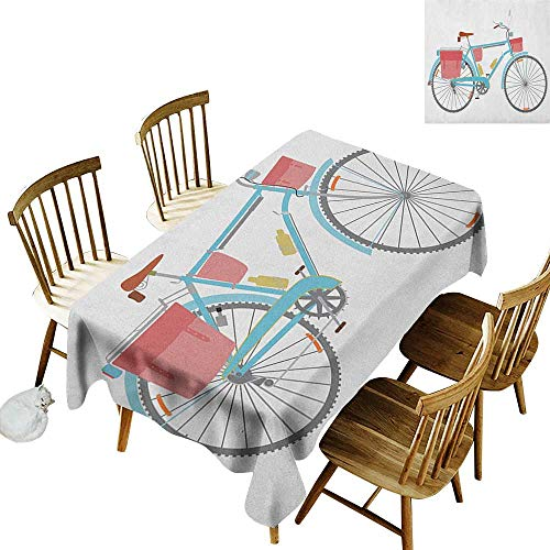 - Grid rectangle tablecloth W54