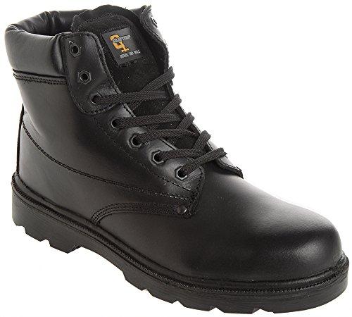 Pour De Grafters Noir Sécurité Chaussures Femme nfggv60