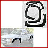 93 chevy 1500 fender flare - Nova for 88-98 Chevy GMC C/K Truck Tahoe Suburban Fender Flares Protector OE Factory Style Front and Rear Smooth Black 4PCs Set