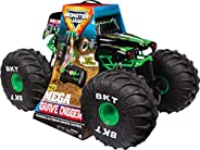 Monster Jam - Mega Grave Digger 1:6 - Powerful All-Terrain Remote Control Truck - Authentic Details - BKT Tire