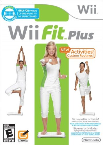 WII FIT PLUS (BALANCE BOARD NOT INCLUDED) (Wii Fit Board Games)