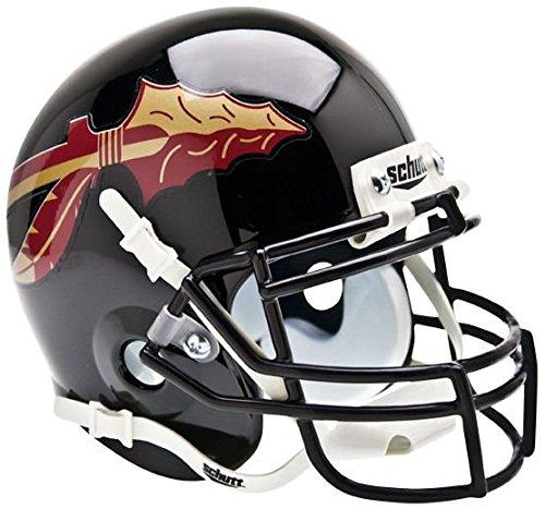Florida State Mini Helmet (NCAA Florida State Seminoles Collectible Alt Mini Helmet, Black)