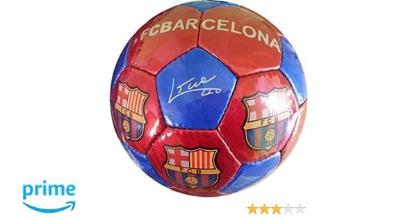 FCB FC Barcelona - Balón f.c. Barcelona con Escudo y firmas Grande ...