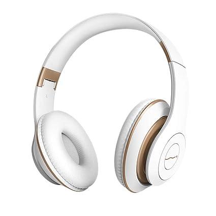 Bluetooth 4.2 Auriculares Auriculares Inalámbrico Radio de Llamada Subwoofer Plegado de música Auriculares Teléfono (Color