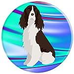 English Springer Spaniel Dog Pop Socket Phone Holder Blue 8