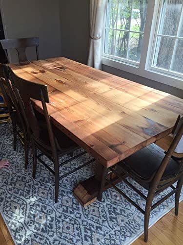 Amazon Reclaimed Wood Dining Table Handmade