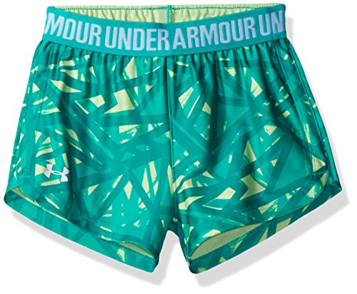 Price comparison product image Under Armour Little Girls' Play Up Short, Absinthe, 5