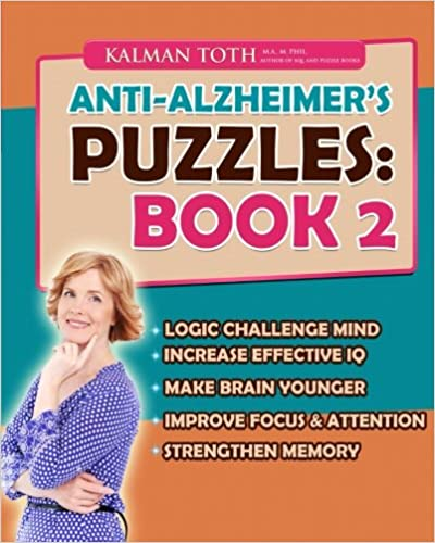 Book Anti-Alzheimer's Puzzles: Book 2: Brain Fitness Bootcamp
