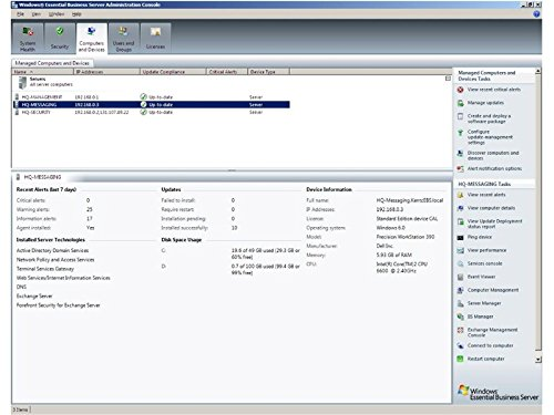 Microsoft Windows Essential Business Server Standard 2008 x64 by Microsoft