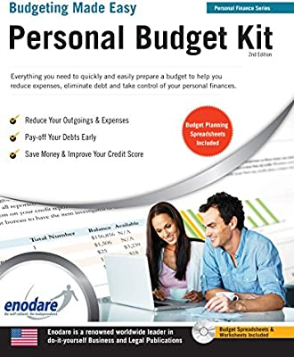personal budget kit including financial software budgeting made