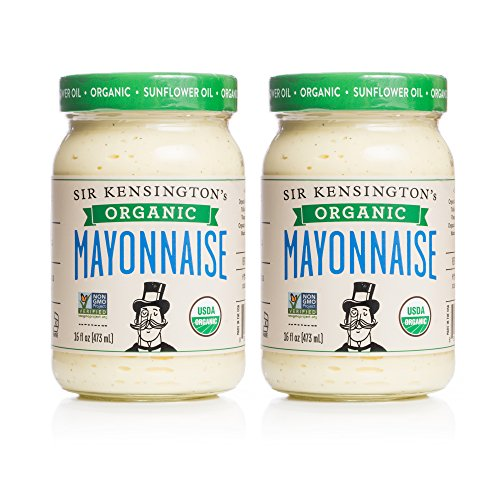 Sir Kensington's Organic Mayonnaise 16oz, Pack of 2