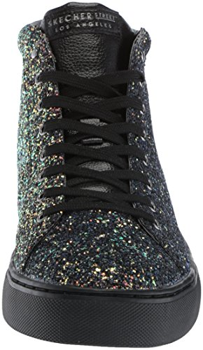 Glitter Black black Street Side Skechers Rock Street Women's znBqYwXv