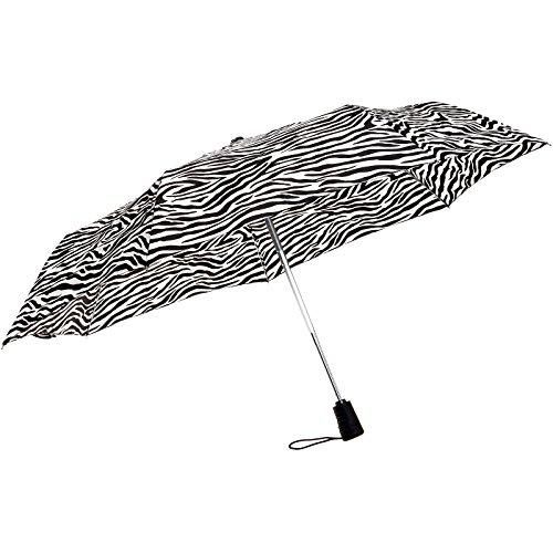 totes Close Compact Umbrella Black