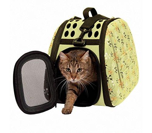 12 opinioni per Trasportino pieghevole con tracolla cani gatti e roditori piccola taglia da