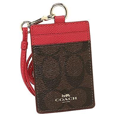 83976ad50fa3 Amazon | 「アウトレット品」(コーチ) COACH ペイトン シグネチャー ランヤード IDケース / カードケース F63274 IML72  [並行輸入品] | 定期入れ