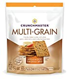 Crunchmaster Multi-Grain Crackers Gluten Free Non GMO, Applewood Smoked BBQ, 4.5 Ounce For Sale