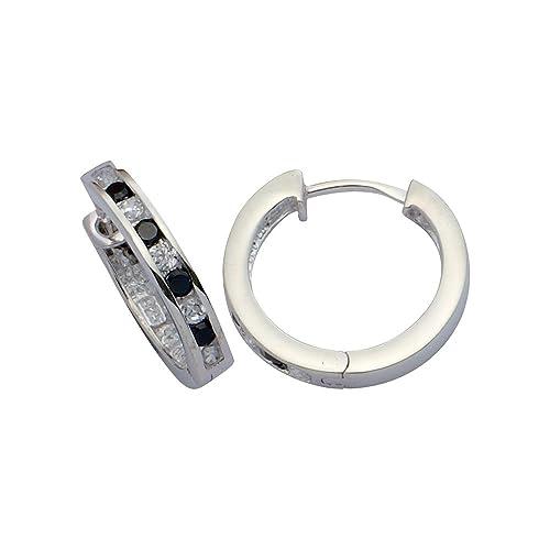 Damen-Creolen Sterling-Silber 925 E-11451
