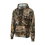 Russell Outdoors Mens Hoodie Realtree AP Camo Hunting Sweatshirt M L XL 2XL 3XL (X-Large)