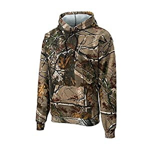 Russell Outdoors Mens Hoodie Realtree AP Camo Hunting Sweatshirt (2X-Large)