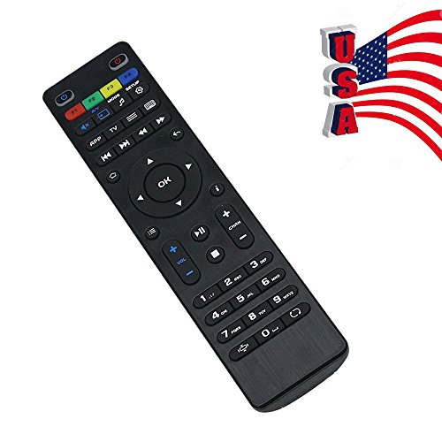 Anewkodi Original Replacement Remote Control for Mag254 Mag250 Mag255 Mag256 Mag257 / 275 / 349 / 350 / 351 / 352 Linux Tv Box OTT IPTV Set Top Box DVB-T2 -  MAG254 remote control