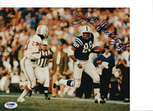 John Mackey Baltimore Colts Autographed Signed Autograph 8x10 Photo PSA/DNA