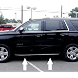 2015 2019 Chevy Tahoe 1 Chrome Running Board Trim Molding 2016 2019 15 16 17 18 Ls Ltz Lt1 Lt By Automotive Authority Llc