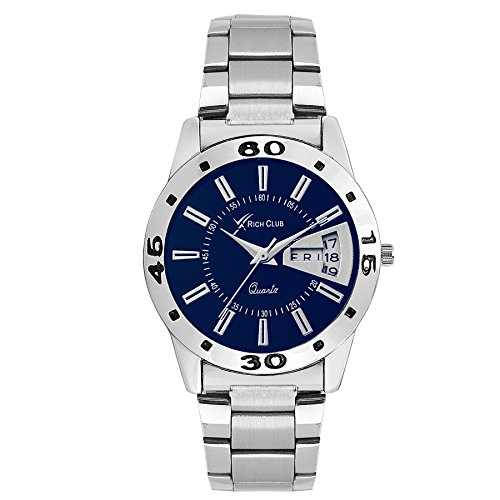 Rich Club RC 6054 Day N Date Display Analog Watch   for Women and Girls