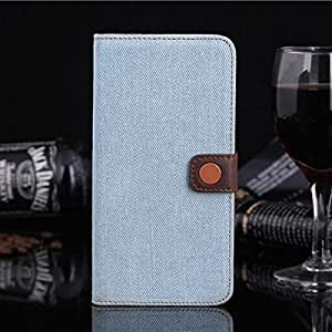 Cowboy Grain Pattern Leather PU PC Cover Case For iPhone 6 Plus
